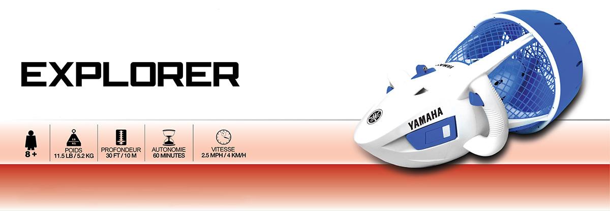 Infos scooter sous marin Yamaha Explorer