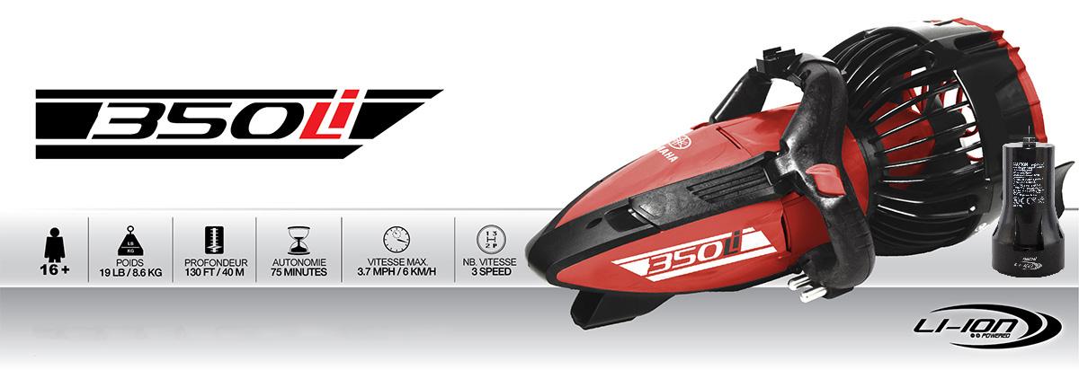 scooter sous marin yamaha 350Li