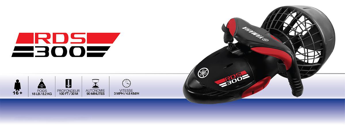 caractéristiques scooter sous marin yamaha rds300