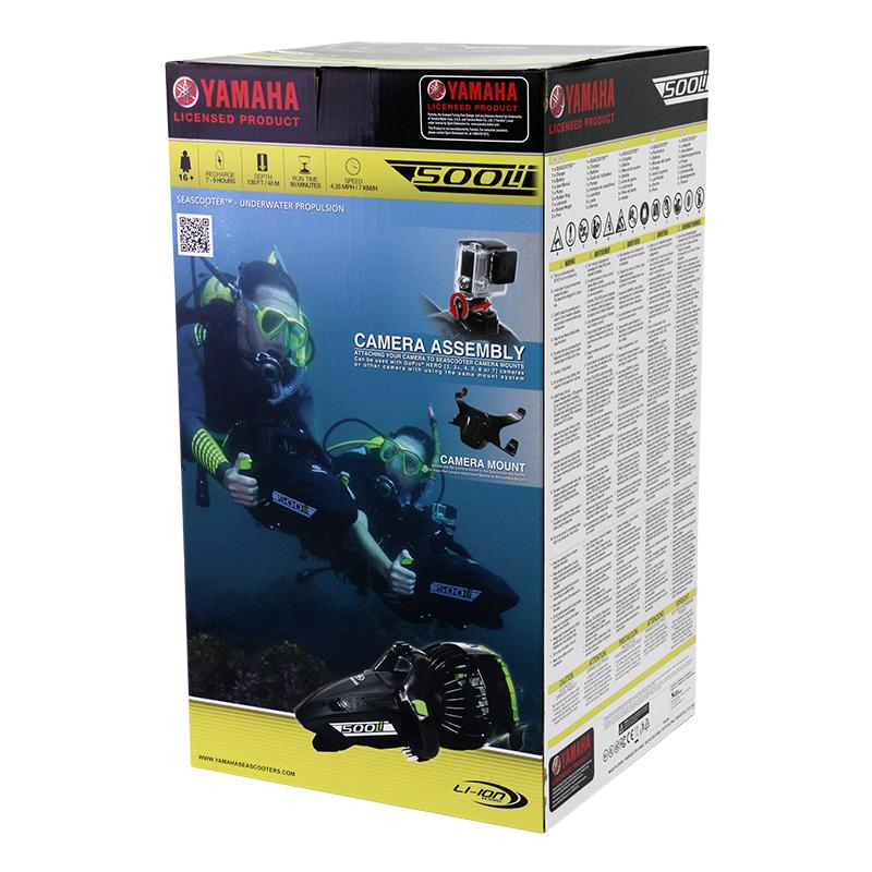 scooter sous marin yamaha 500li packaging