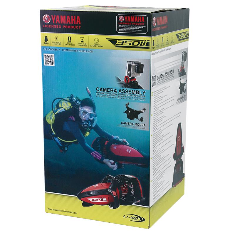 emballage scooter sous marin yamaha 350li