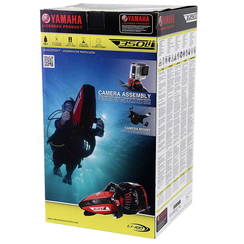 Packaging scooter sous-marin Yamaha 350Li