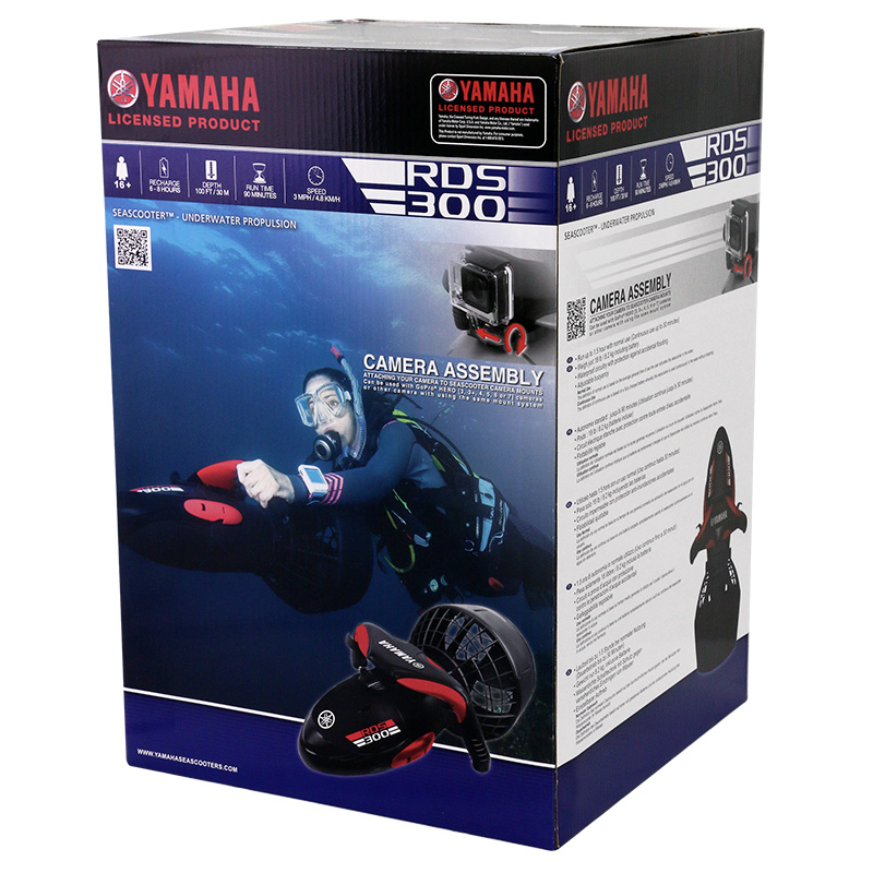 packaging scooter sous marin yamaha rds300