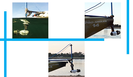 Adaptateur kayak pro angler bixpy